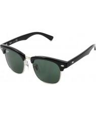 RayBan Junior Rj9050s 45 Clubmaster svart 100-71 solbriller