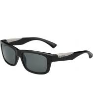 Bolle Jude skinnende svart polarisert TNS solbriller