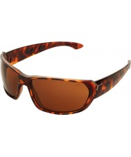 Cebe Trekker skinnende skilpaddeskjell 1500 brune solbriller