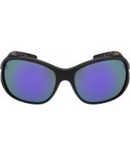 Bolle Solden skinnende svart blå-fiolett solbriller