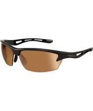 Bolle Bolt skinnende svart modulator v3 golf solbriller