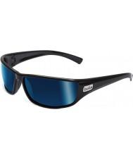 Bolle Python svart polarisert offshore blå solbriller