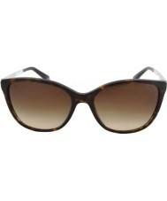 Emporio Armani Ea4025 55 moderne mørk havana 502613 solbriller