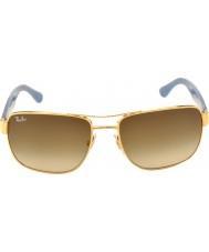 RayBan Rb3530 58 highstreet gull 001-13 gradient solbriller