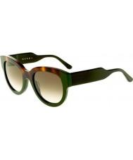 Marni Ladies me600s havana og grønne solbriller