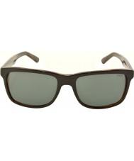 Polo Ralph Lauren Ph4098 57 avslappet liv øverste svarte på jerry skilpadde 526087 solbriller