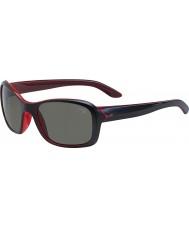 Cebe Idyll matt svart krystall rosa solbriller