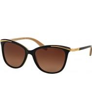 Ralph Ra5203 54 ungdoms svart naken 1090t5 polariserte solbriller